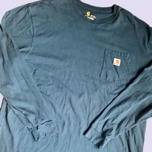 Carhartt Long Sleeve Pocket T Work Shirt XXLT